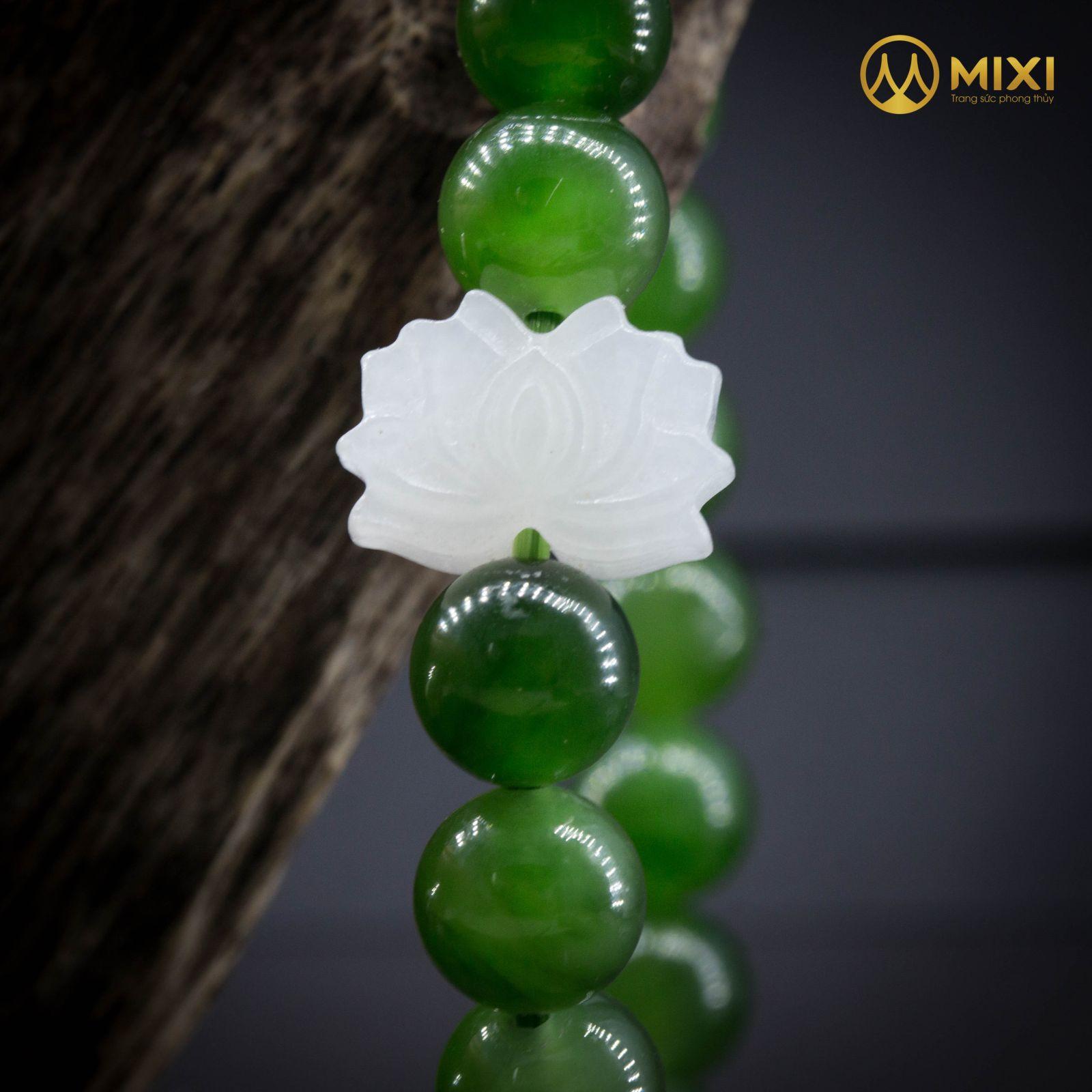 VT Ngọc Bích Mix Hoa Sen Bạch Ngọc NBHSBN01