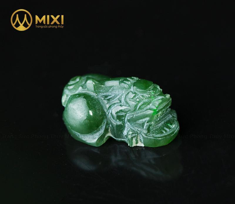 Mặt Dây Tỳ Hưu Ngọc Bích Nephrite