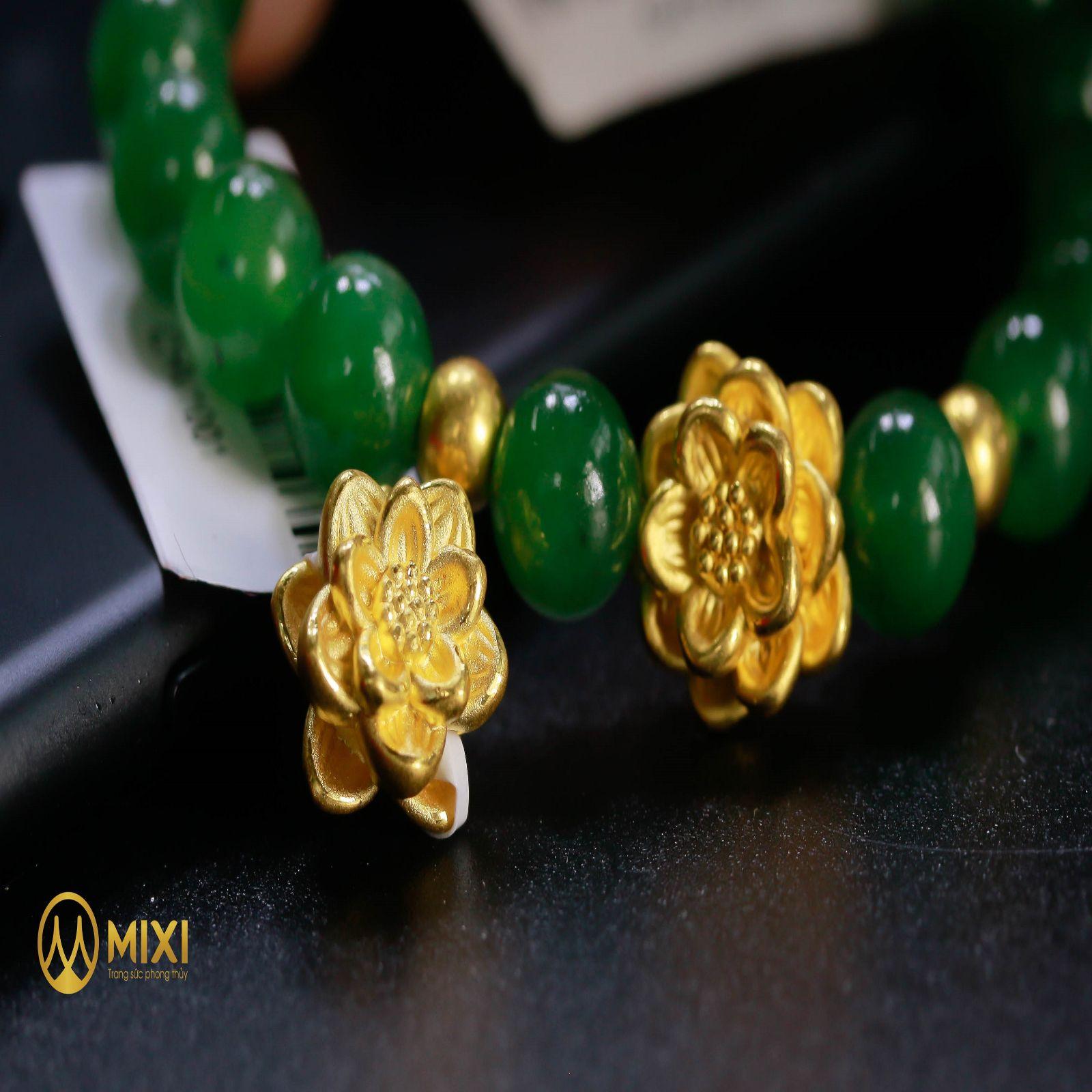 Charm Hoa Sen Vàng 24K