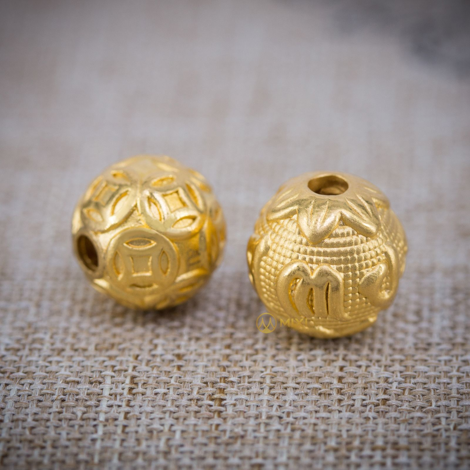 Charm Bi Kim Tiền Vàng 24k_10
