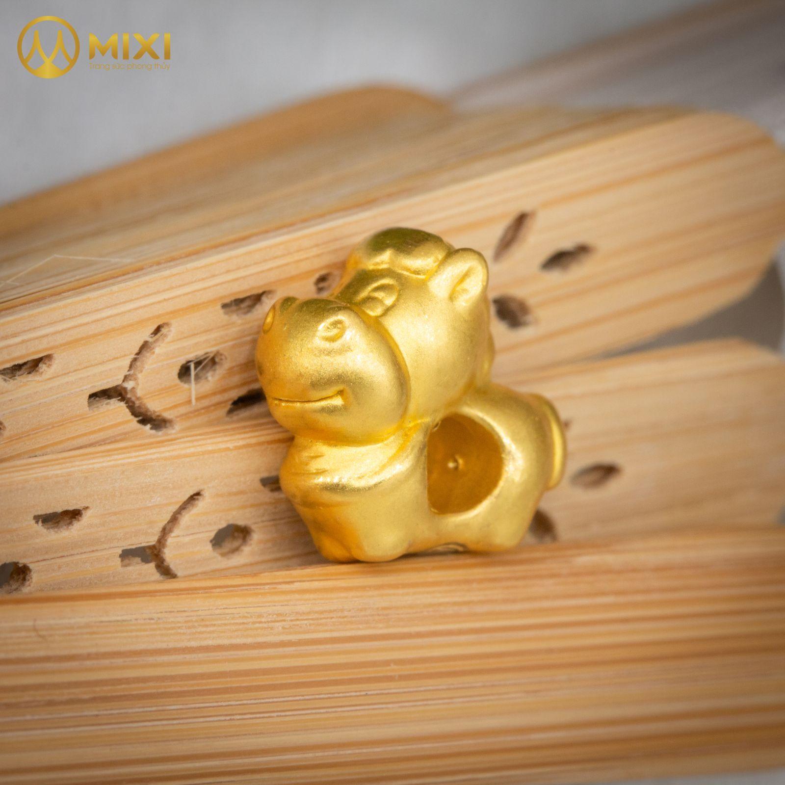Charm Con Giáp Vàng 24k_Ngọ
