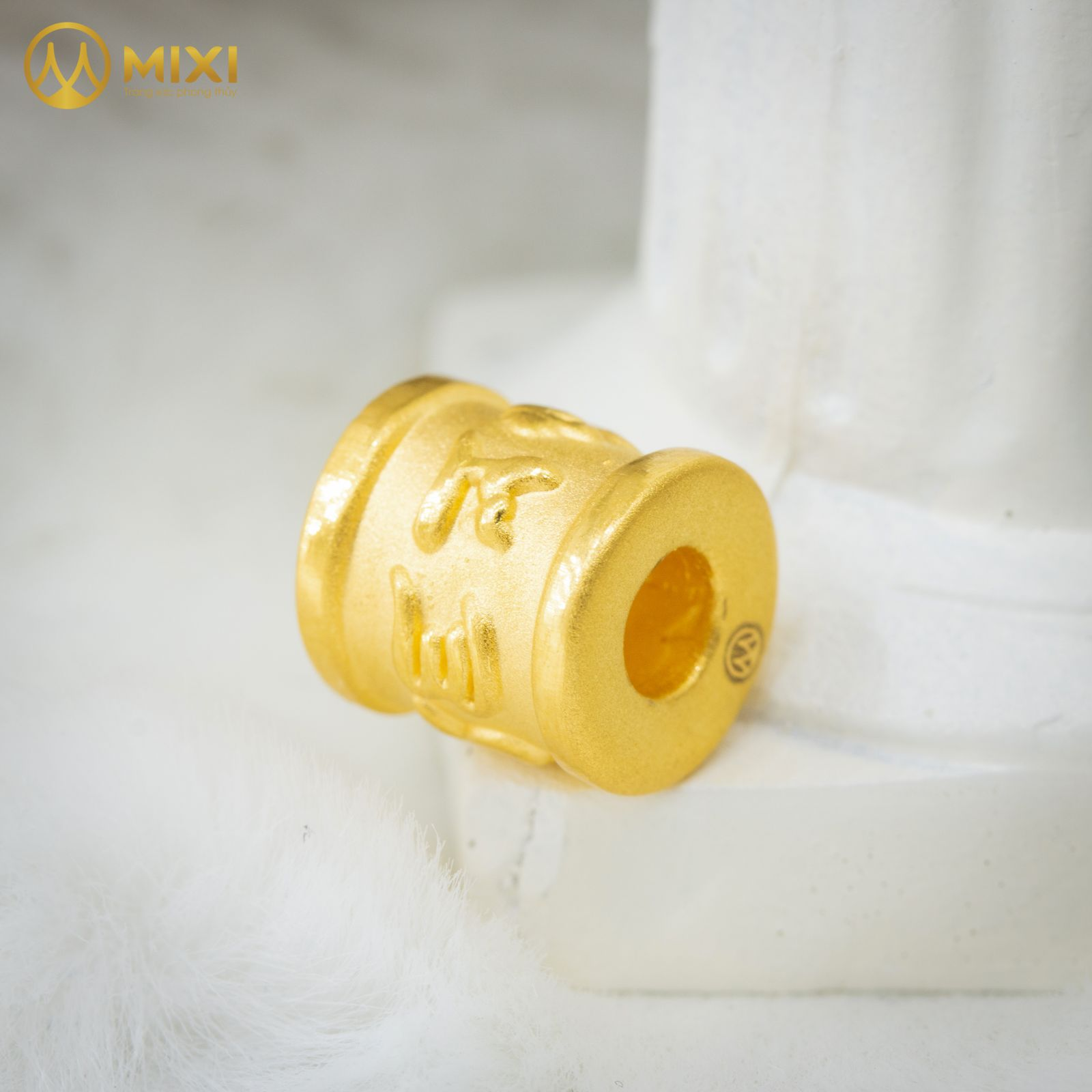 Charm Omshanti Trụ Vàng 24K_10