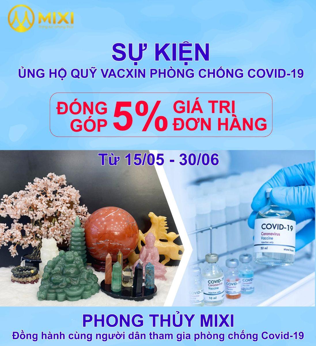 Sự Kiện Ủng Hộ Quỹ Vacxin Phòng Chống Covid-19