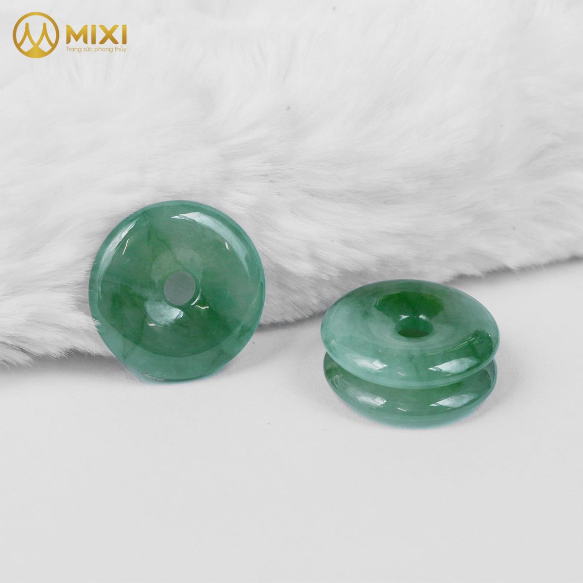 Mặt Đá Đồng Điếu Ngọc Nephrite 2A_Vừa