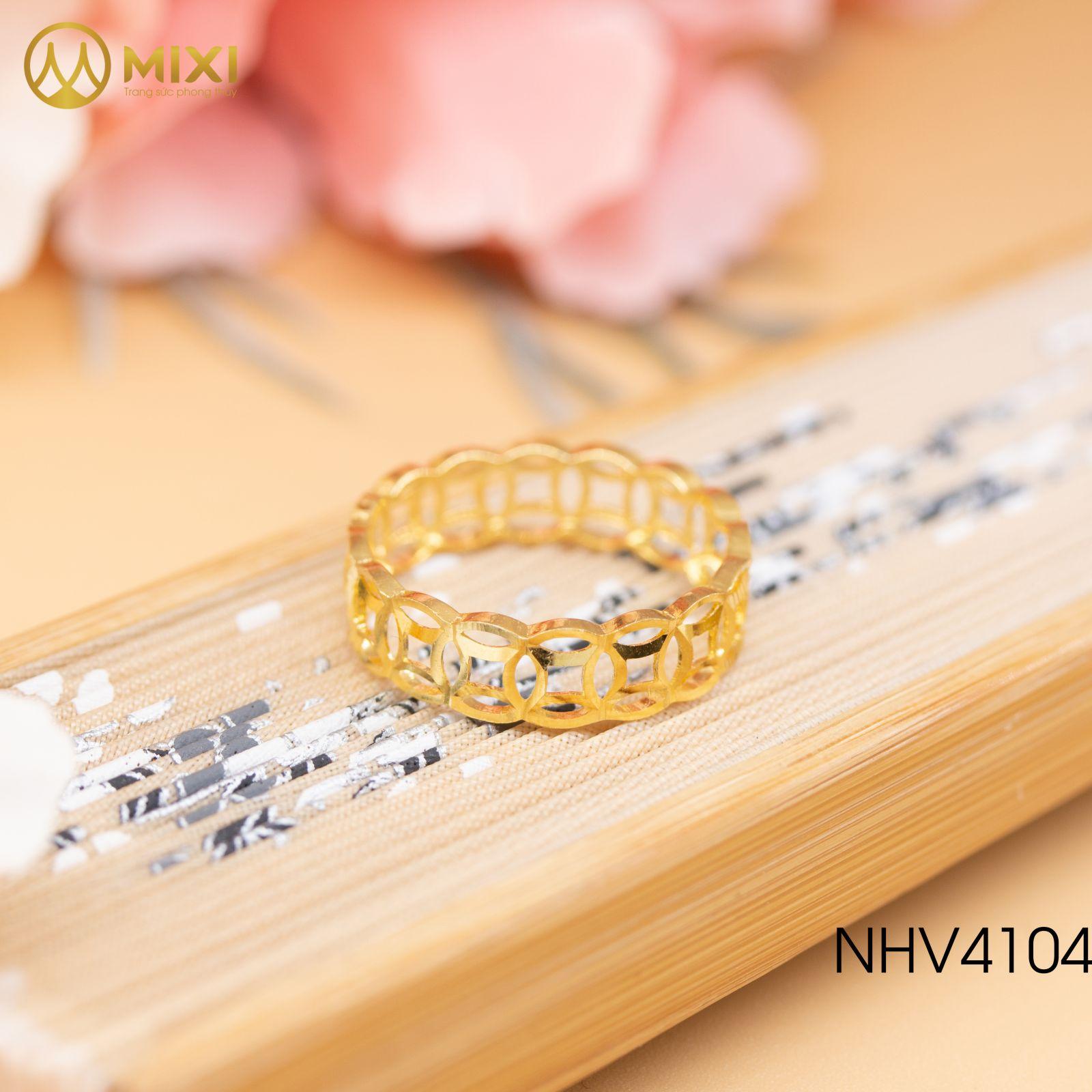 Nhẫn Kim Tiền Vàng 10K_9