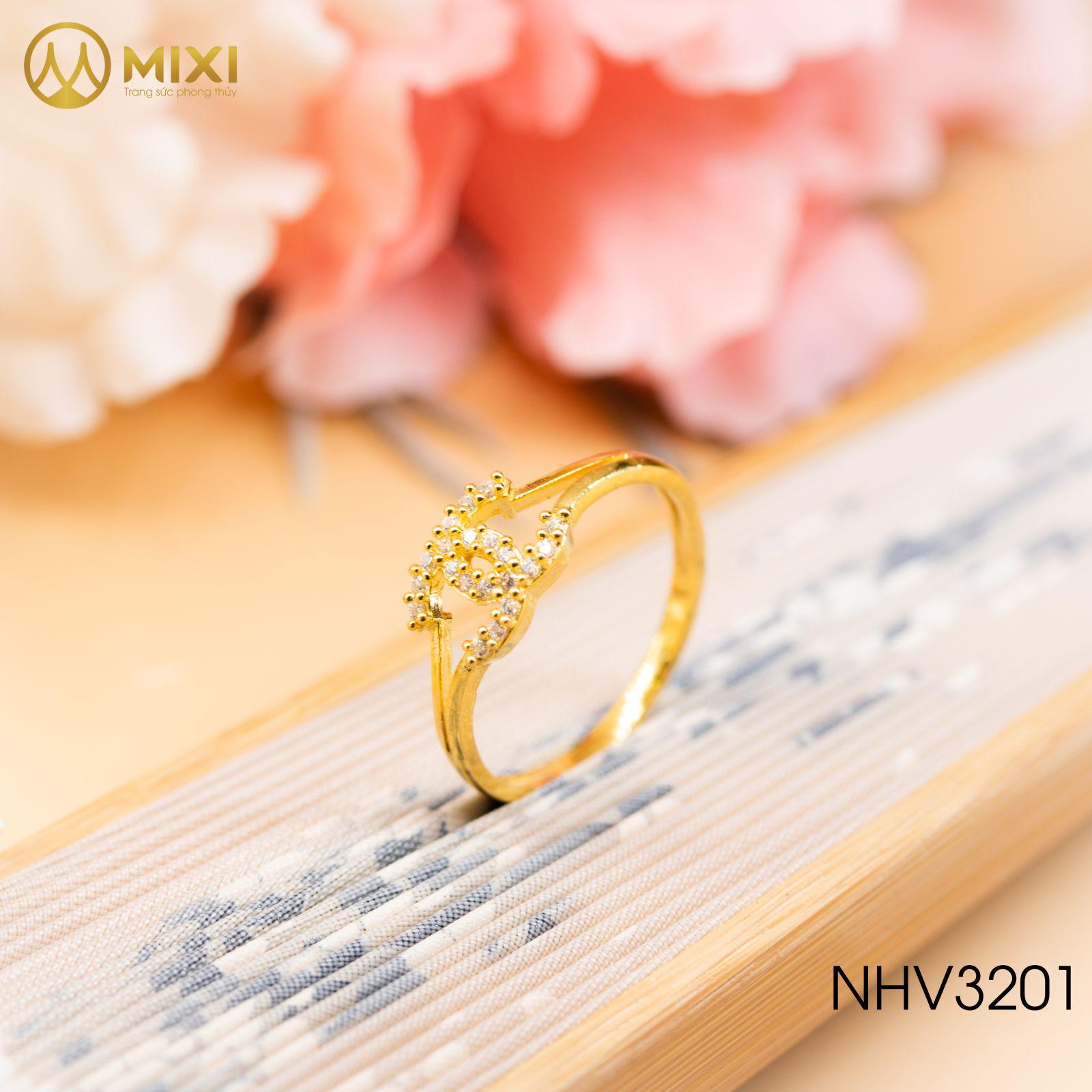 Nhẫn Nữ Mặt Chanel Vàng 10K_12