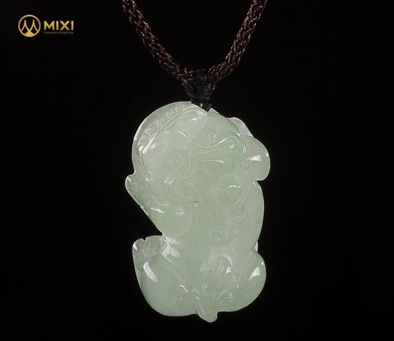 Mặt Dây Tỳ Hưu Ngọc Jade 1A