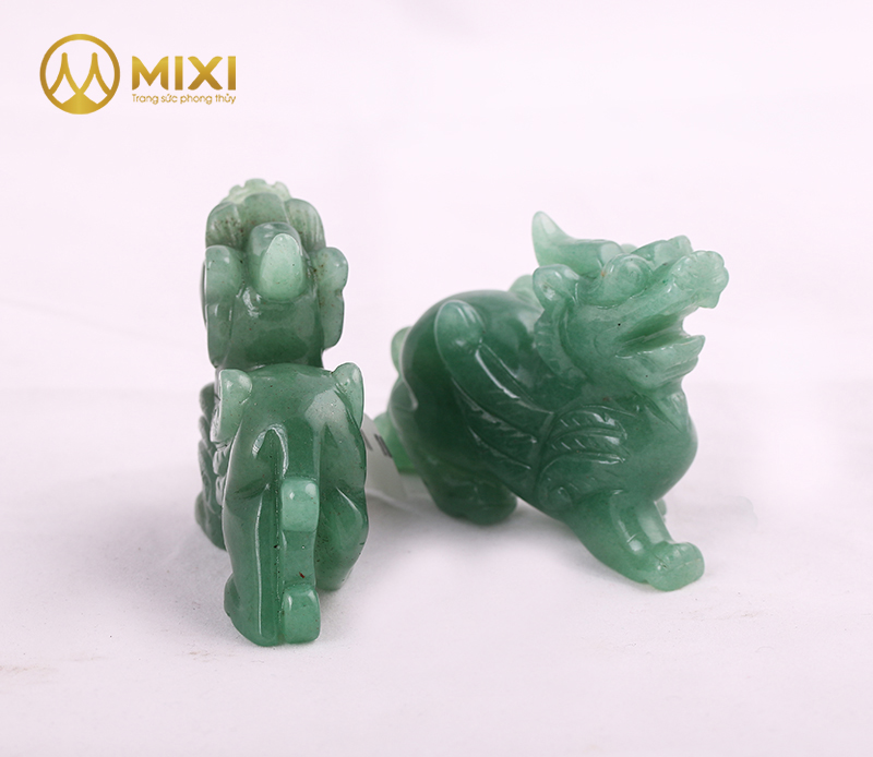 Tỳ Hưu Thạch Anh Xanh_10 cm