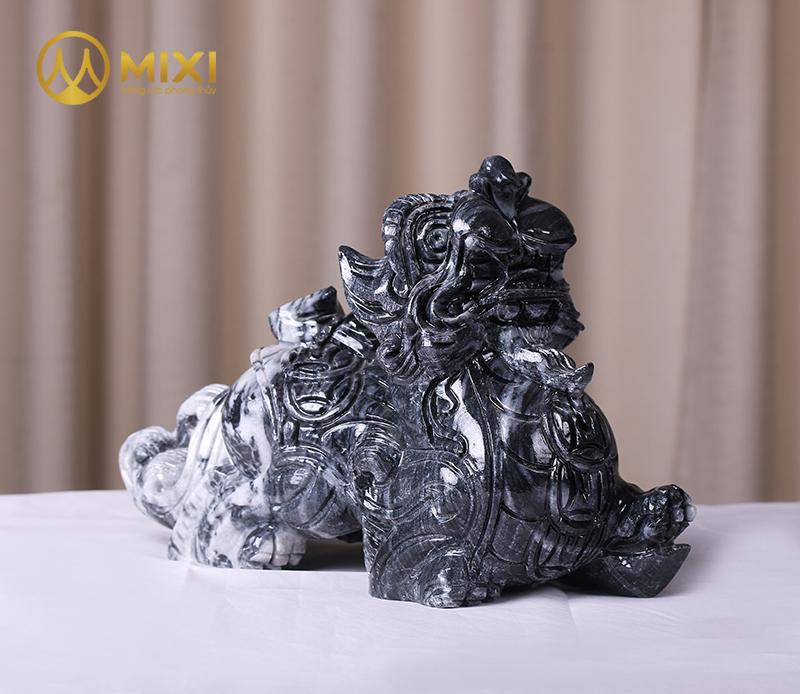 Tỳ Hưu Đá Thanh Hóa Đen_30 cm