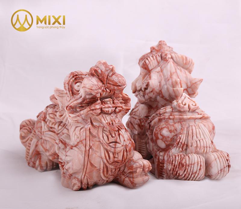Tỳ Hưu Đá Thanh Hóa Vân Gỗ_15 cm