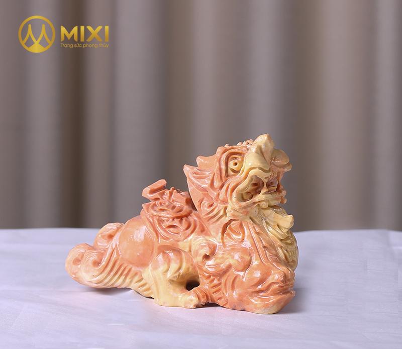 Tỳ Hưu Đá Thanh Hóa Vàng_20 cm