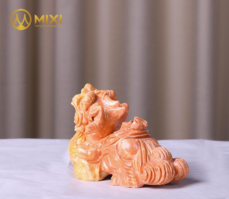 Tỳ Hưu Đá Thanh Hóa Vàng_15 cm