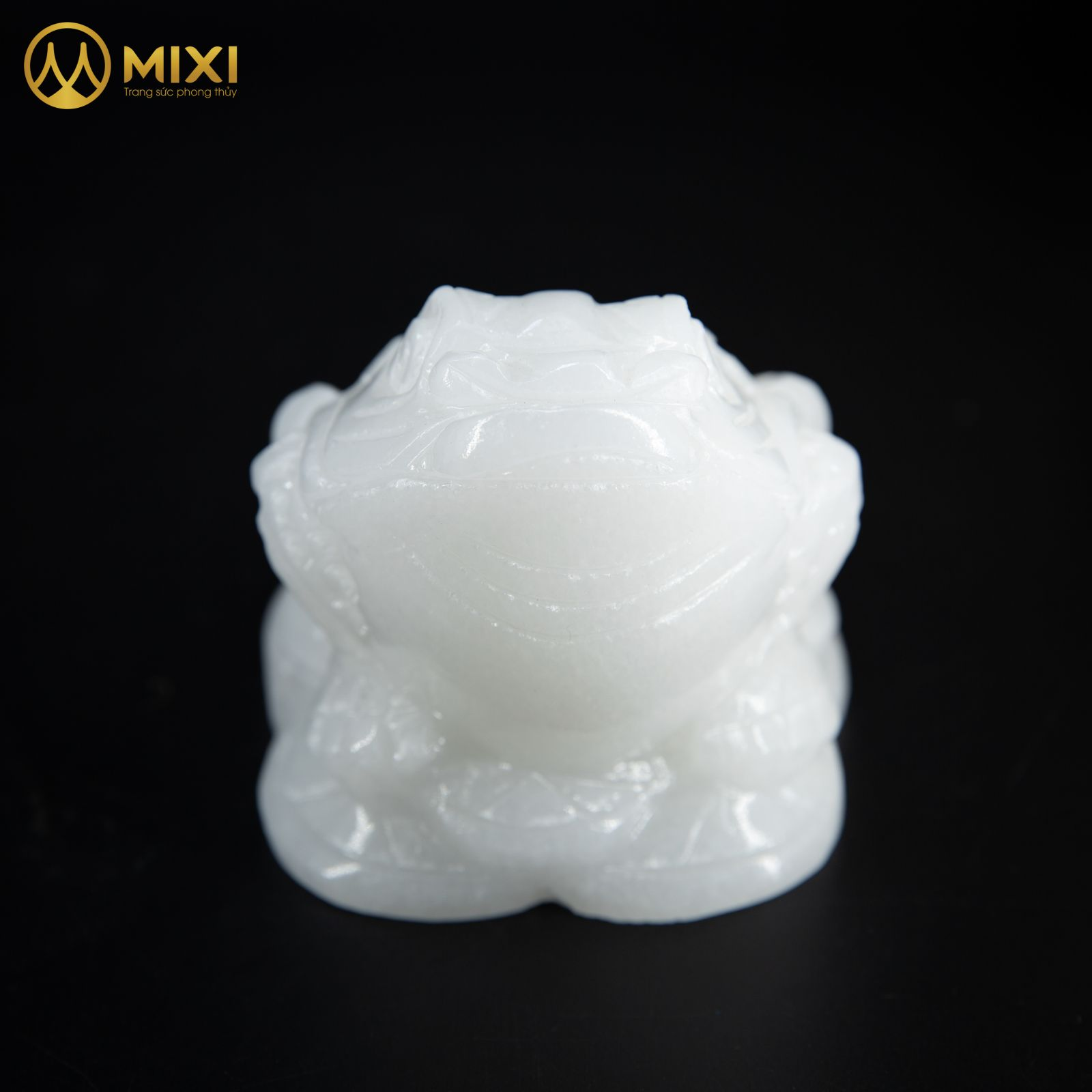 Thiềm Thừ Canxit Trắng_10 cm