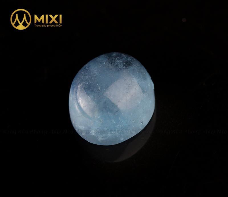 Mặt đá Aquamarine Hình Giọt Nước (giá/ct)